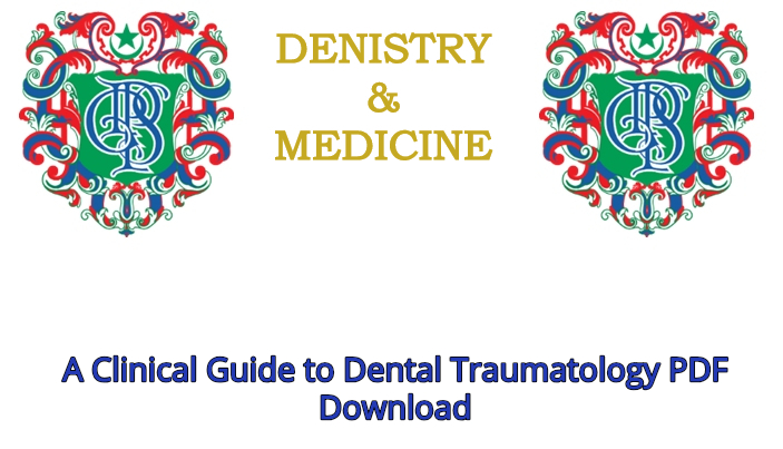 Dental Traumatology Book
