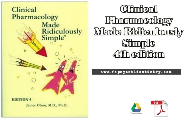 Clinical Pharmacology Made Ridiculously Simple 4th Edition Pdf