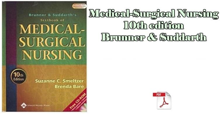 medical surgical nursing book brunner suddarth pdf